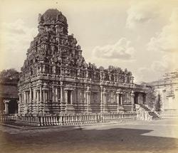 Tanjore Pagoda  The Subramanya Temple